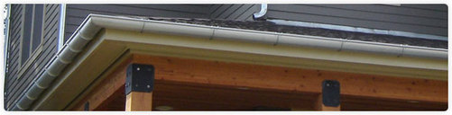 Seamless Half Round Gutters And Downspouts Colorado