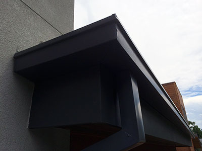 Modern Box Gutters Colorado Seamless Gutters