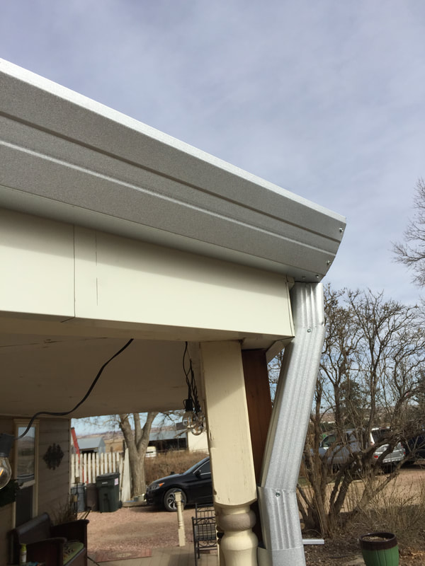 Denver Gutter Project Portfolio Colorado Seamless Gutters