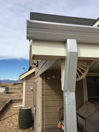 Colorado Seamless Rain Gutters
