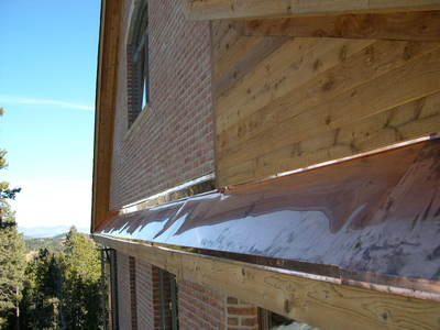 Colorado gutters and downspouts