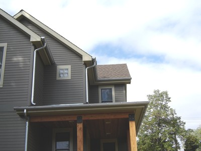 seamless half rounded gutter denver