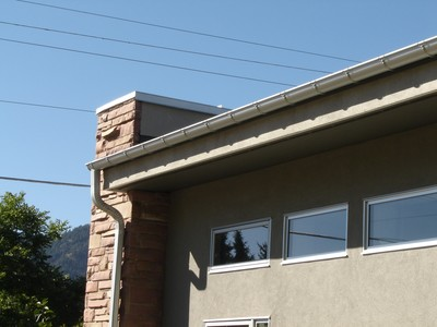 commercial half round gutter denver co