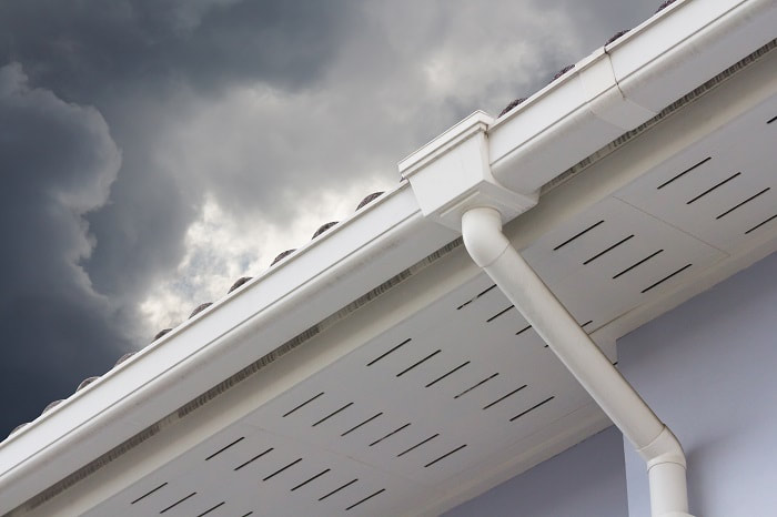 Hire a professional for gutter repair